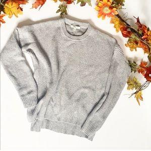 Madewell Grey Crew Neck Sweater